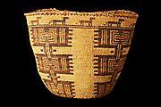 Twana or Snohomish basket
